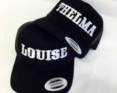 Thelma & Louise Trucker Snapback Black Best Friends Snapback Mesh Back Hat
