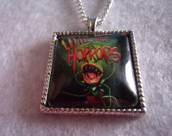 Theater Little shop of horrors glass pendant