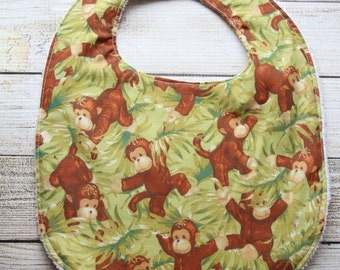 Clearance Sale***One Monkey Bib