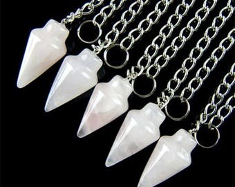 Rose Quartz Pendulum Pagan Wiccan
