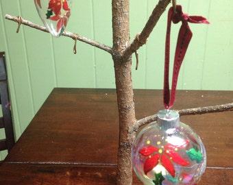 Poinsettias Ornaments