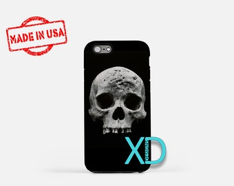 Skull iPhone Case, Halloween iPhone Case, Scary iPhone 8 Case, iPhone 6s Case, iPhone 7 Case, Phone Case, iPhone X Case, SE Case
