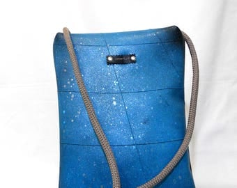 Vegan Backpack // Polymorphic Bag // Upcycled Bag