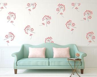Dill Flower Stencil