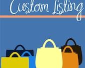 Custom Order Mets Lanyard Coin Bag in Larger Size