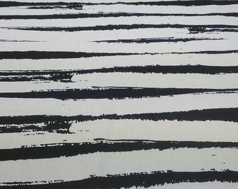 RESERVED black and white large fat Lines Striped Modern Scandinavian Design , napkins , runner , curtains , pillow covers , great GIFT