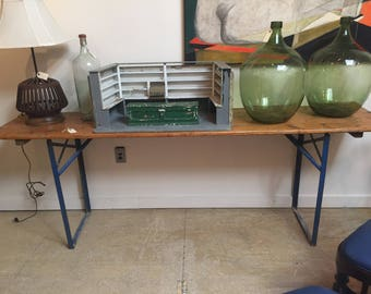 Vintage Folding Console Table