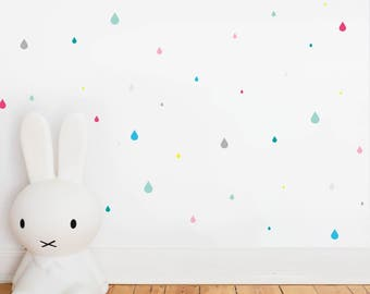 Wall Sticker Happy Drops