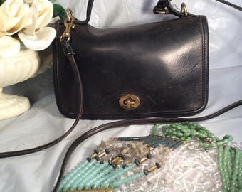 Vintage Coach purse with Long Strap and Hangtag