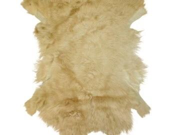 Glacier Wear Tuscan lamb Hide Pelt Fur Tan