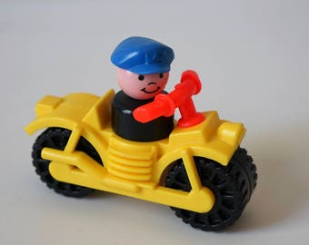 Fisher Price Motorcycle and Whoops Man