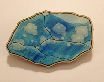 Pokémon Water Stone Brooch