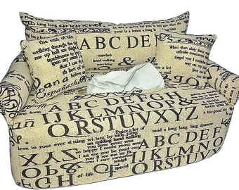 Handkerchief sofa letters and lettering - cosmetics cloth box cover bed tissue box cover