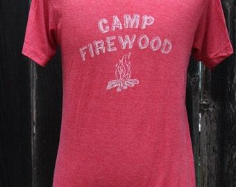Camp Firewood Screenprinted Shirt