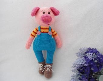Lovely Pig crochet / Lucky pig pattern
