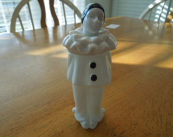 Vintage Avon Cologne Bottle.  Pierrot Charisma, Clown,  Nice Collectible in Excellent Condition.