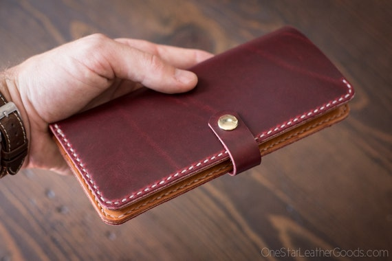 BUILD-YOU-OWN - Women's long wallet with snap