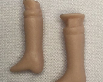 Dollhouse Miniature Porcelain Doll Legs (RG)