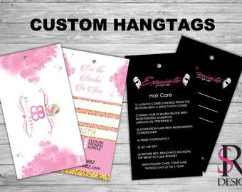 Custom Product Hangtags