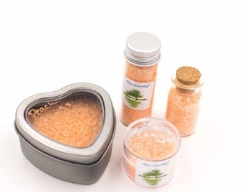 Bath Salts Peach Mango Aromatherapy Relaxing Spa Item
