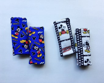 MICKEY MOUSE Car seat Strap Covers Disney