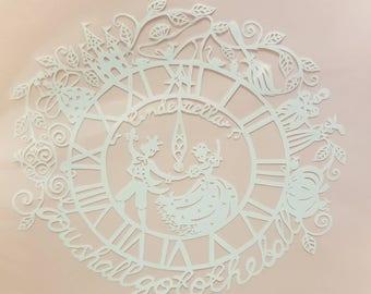 Cinderella Papercut