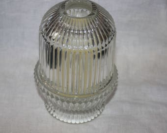 Vintag Homco Ribbed Fairy Light Candle with Battery Candle