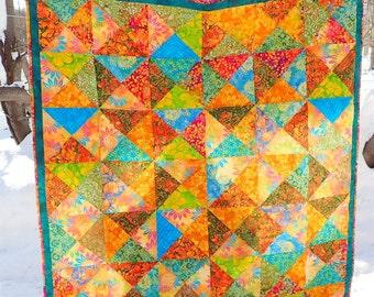Tropical Batiks Quilt