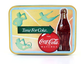 Coca Cola Watch Tin Only