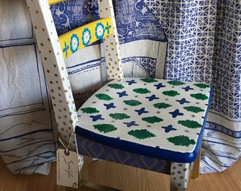 Hand Painted Childrens' Chair