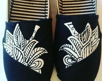 Hand Painted Travis & Morgen shoes