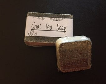 Chai Tea Soap Set
