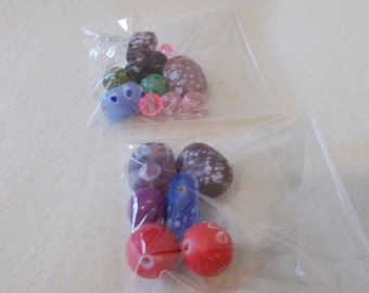 20 grams of glass focal beads
