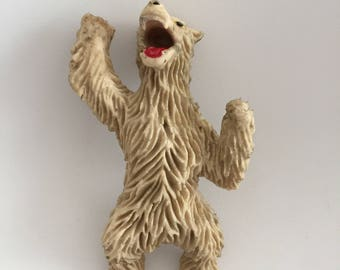 1973 Imperial Grizzly bear jiggler toy