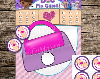 Doc McStuffins Birthday Party game instant download