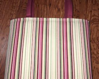 Stripe Tote Bag  New