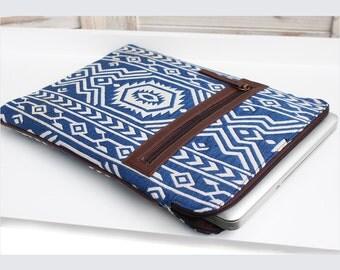 Laptop & iPad Sleeve   Blue Jazz
