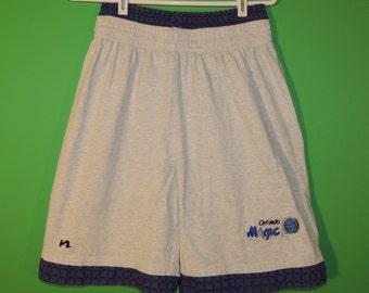 VTG Orlando Magic Nosco / Nasco Men's Size L Large 36-38 100% Cotton NBA Basketball Shorts
