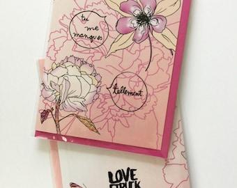 Miss me you - greeting card - Lovestruck Prints
