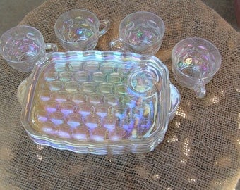 Iridescent Snack Set