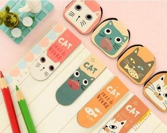 Cat Magnetic Bookmark DA1006B