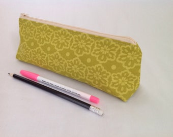 Pencil Case, Brush Case, Zipped Pouch, Purse, Cosmetic Purse,  Accessory Pouch