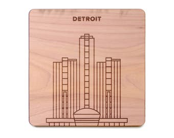 Detroit Coaster  - Fisher Building