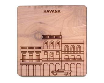 Havana Coaster - Plaza Vieja