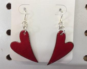 Heart earings