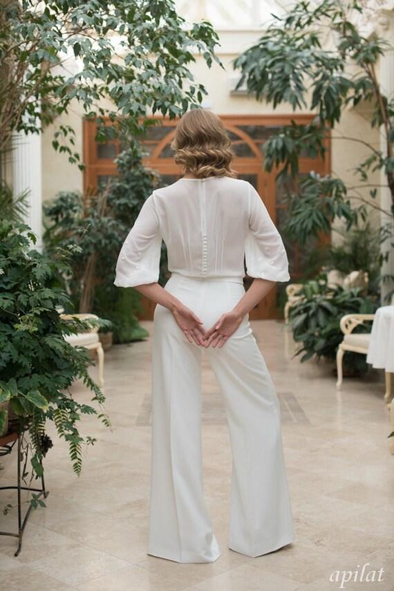 Hochzeit kleid oder hose