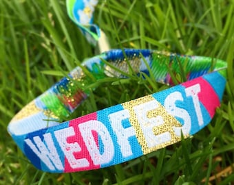 Custom Festival Wristbands x 100 pcs