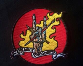 Satanist Cartoonists patch