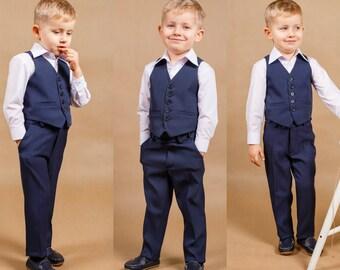 traje de boda de anillo portador traje nio traje boy boy boda traje anillo portador traje