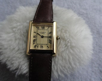 Le Courier 17 Jewels Wind Up Vintage Watch